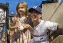 Claire Eccles returns to baseball – with bobblehead