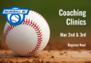 Coaching Clinics – Mar 2nd and 3rd