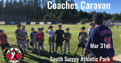 BC Baseball Coaches Caravan – Mar 31st (Sun)