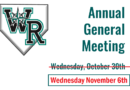 2019 Annual General Meeting – Wednesday Nov 6th