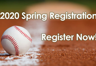 2020 Spring Registration – Register Now!
