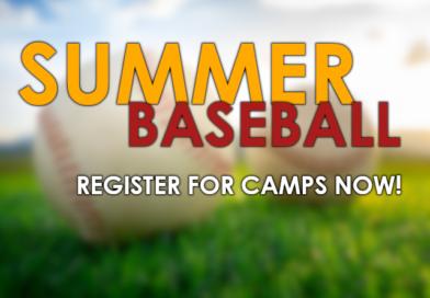 2020 Summer Baseball Camps