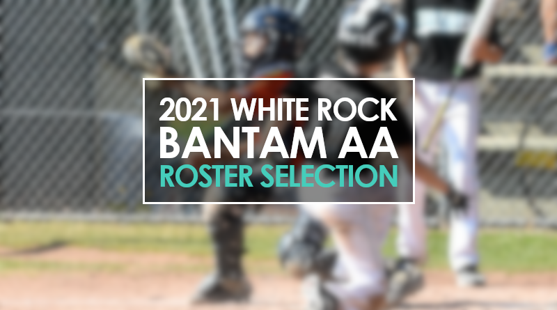 2021 Bantam AA Roster Selection