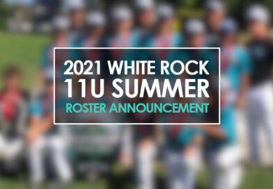 2021 11U Summer Roster Announcement