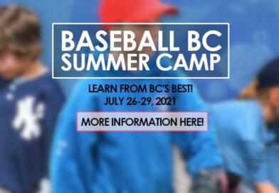 2021 Baseball BC Summer Camp